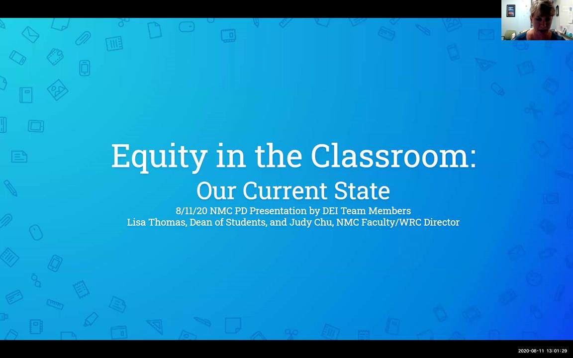 Equity in the Classroom - Our Current State (Final...