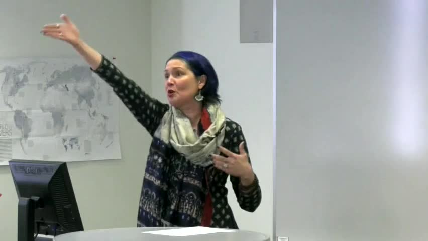 Sarah Montgomery-Richards: The World of Comparative Religions at NMC