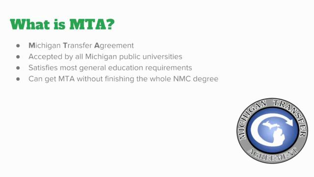 What Is The Mta Michigan Transfer Agreement