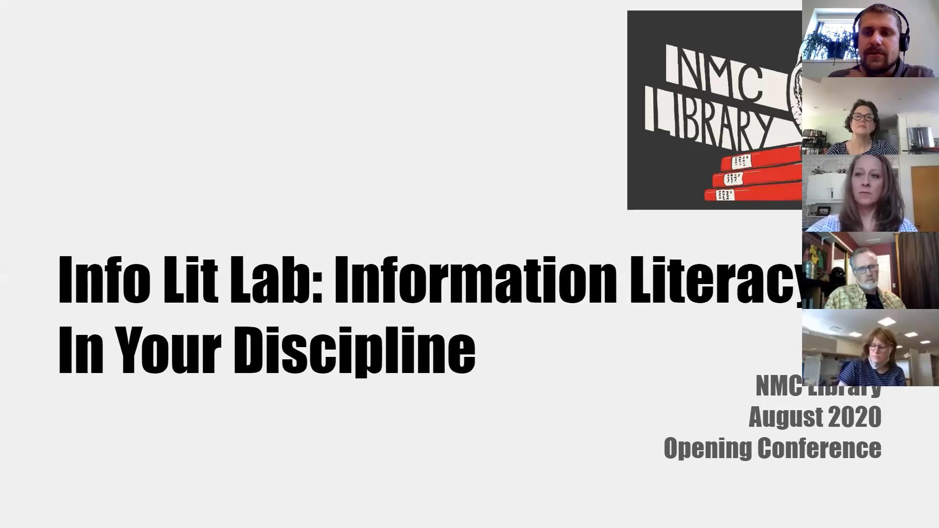 Info Lit Lab: Information Literacy in Your Discipl...