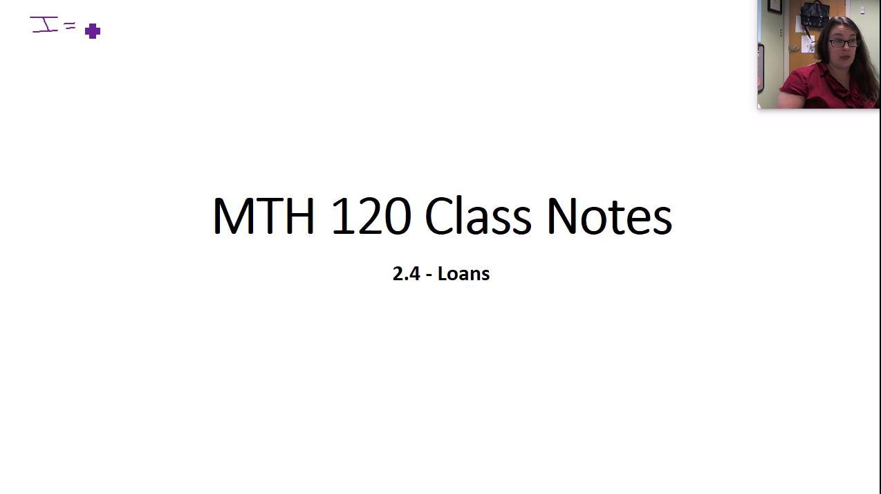 MTH 120 2.4